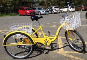yellow trike